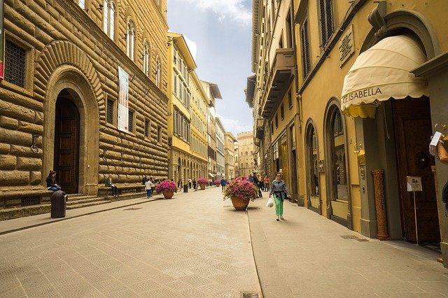 domy ve Florencii