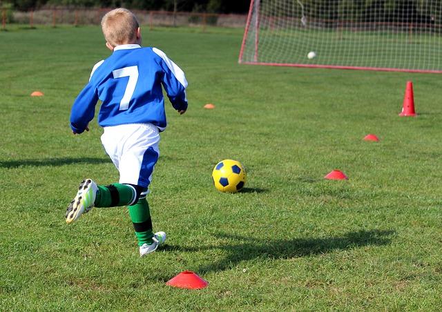 trénink fotbalisty
