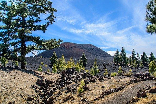 sopka na Tenerife